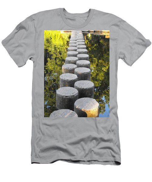 Blissful Path Of Tranquility Men's T-Shirt (Athletic Fit)