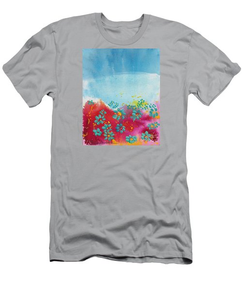 Blooms Men's T-Shirt (Slim Fit) by Shelley Overton