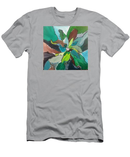Blossom Men's T-Shirt (Slim Fit) by Becky Chappell