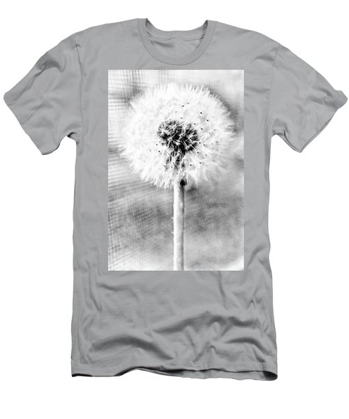 Blowing In The Wind Pencil Effect Men's T-Shirt (Athletic Fit)