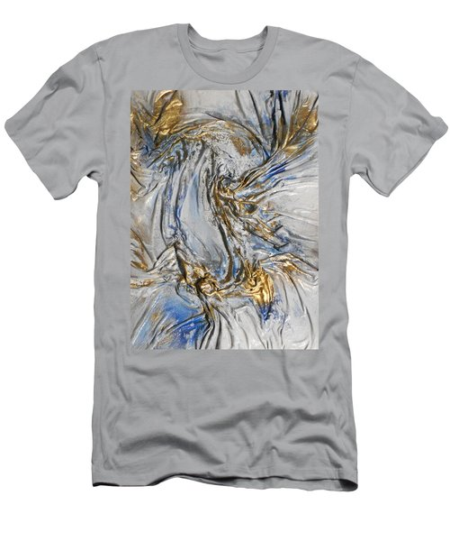 Blue And Gold 3 Men's T-Shirt (Athletic Fit)