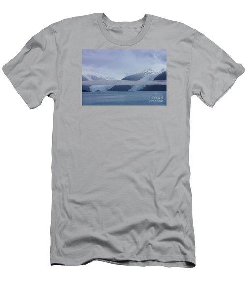 Blue Escape In Alaska Men's T-Shirt (Athletic Fit)