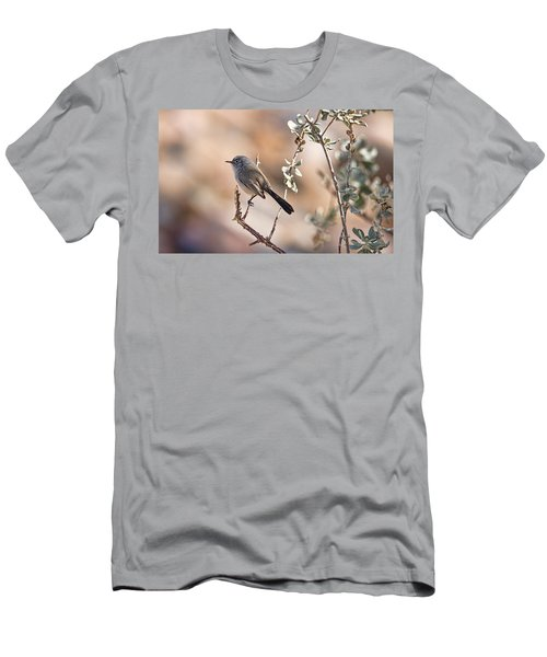 Black-tailed Gnatcatcher Men's T-Shirt (Athletic Fit)