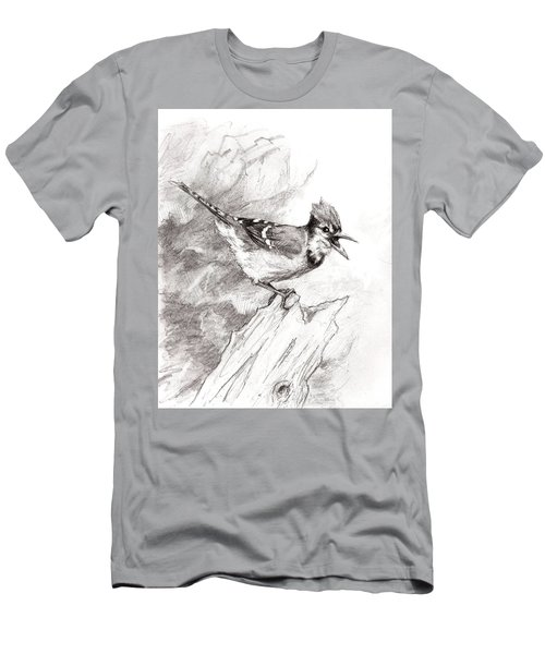 Blue Jay Men's T-Shirt (Athletic Fit)