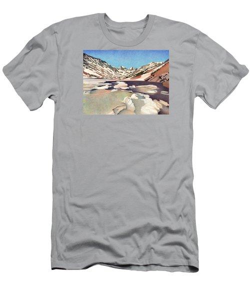 Blue Lakes Colorado Men's T-Shirt (Athletic Fit)