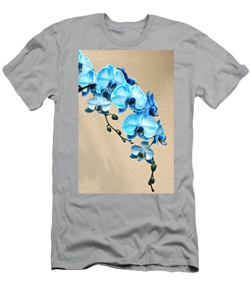 Blue Mystique Orchid Men's T-Shirt (Athletic Fit)