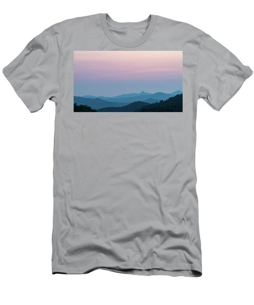 Blue Ridge Mountains After Sunset Men's T-Shirt (Athletic Fit)