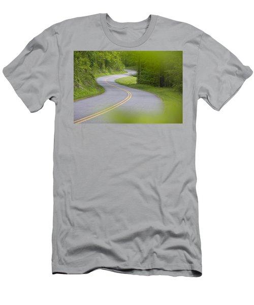 Blue Ridge Parkway Men's T-Shirt (Athletic Fit)