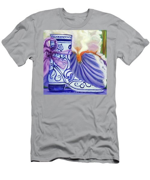 Blue Shoe, Painting Of A Painting Men's T-Shirt (Athletic Fit)