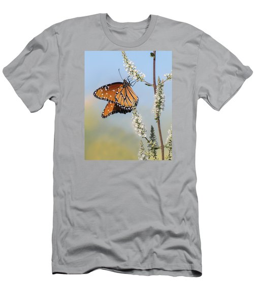 Men's T-Shirt (Athletic Fit) featuring the photograph Blue Sky Dancer  by Julie Andel