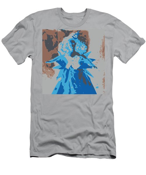 Blue Sunflower Barbie Men's T-Shirt (Athletic Fit)