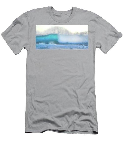 Blue Wave Men's T-Shirt (Slim Fit) by Kristine Merc