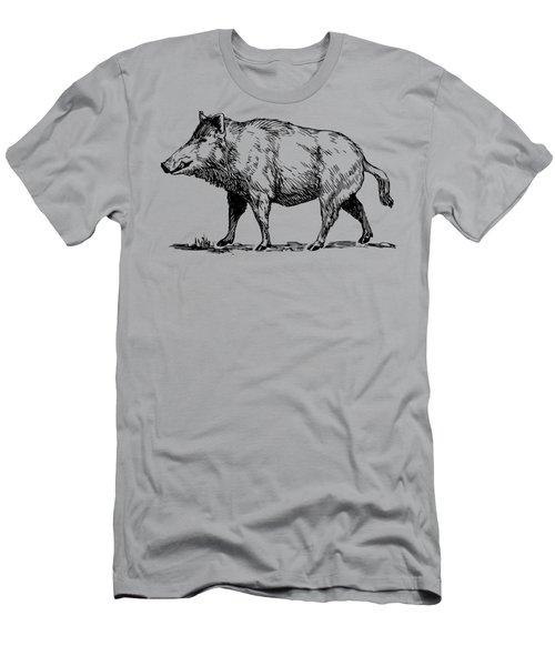 Boar Men's T-Shirt (Athletic Fit)