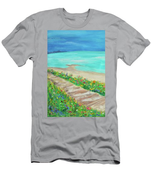Boardwalk In Carmel Men's T-Shirt (Athletic Fit)