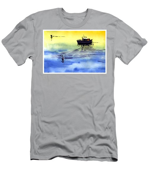 Boat And The Seagull Men's T-Shirt (Athletic Fit)