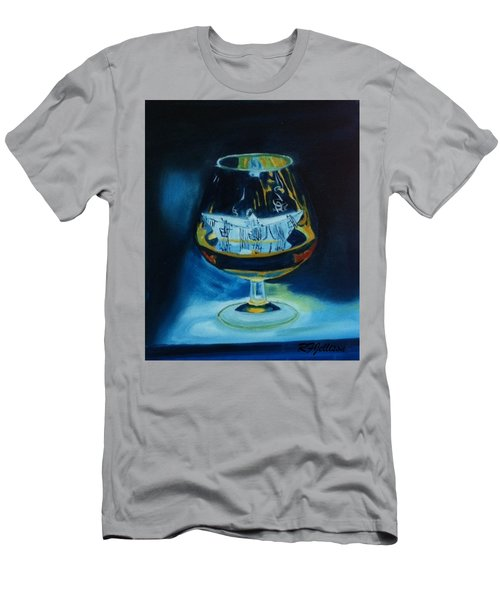 Boat In A Glass Men's T-Shirt (Slim Fit) by Rod Jellison