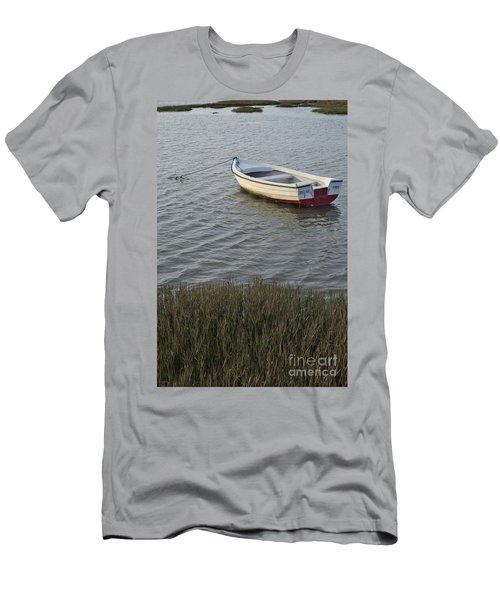 Boat In Ria Formosa - Faro Men's T-Shirt (Athletic Fit)