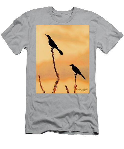 Boat Tailed Grackles Men's T-Shirt (Athletic Fit)