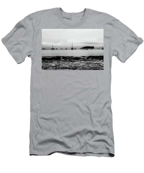 Boats And Waves 2 Men's T-Shirt (Athletic Fit)