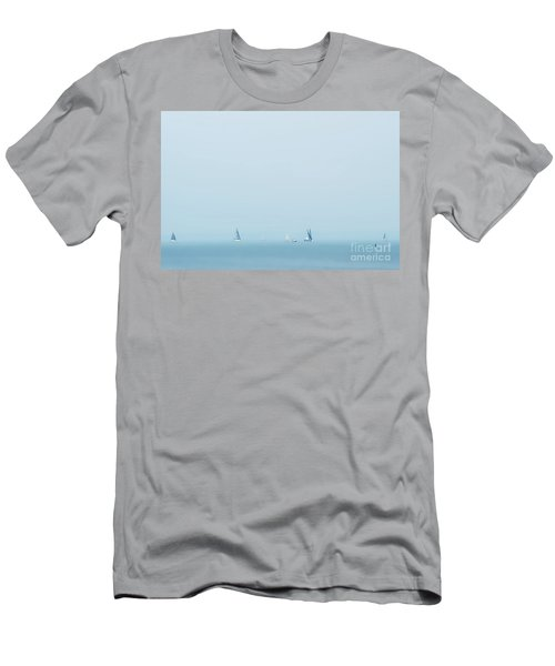 Boats On The Irish Sea Men's T-Shirt (Athletic Fit)