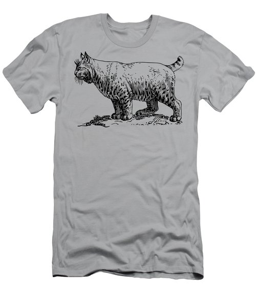 Bobcat Men's T-Shirt (Athletic Fit)