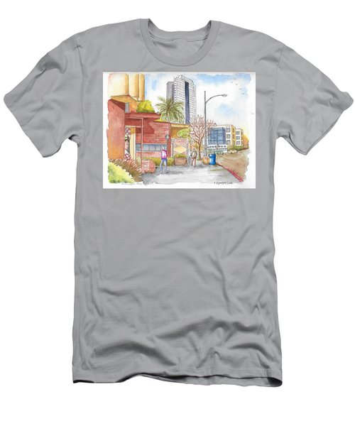 Bob's Coffee Shop In Riverside Dr., Burbank, California Men's T-Shirt (Athletic Fit)