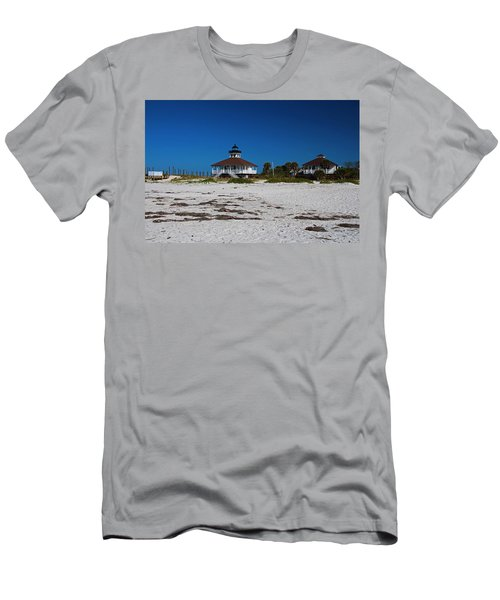 Men's T-Shirt (Athletic Fit) featuring the photograph Boca Grande Lighthouse X by Michiale Schneider