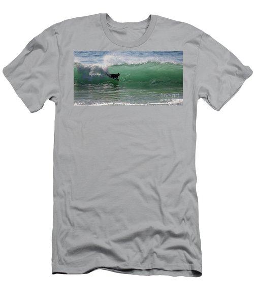 Body Surfer Men's T-Shirt (Slim Fit) by Jim Gillen