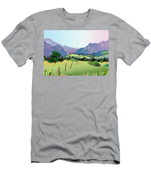 Bolder Boulder Poster 2009 Men's T-Shirt (Athletic Fit)
