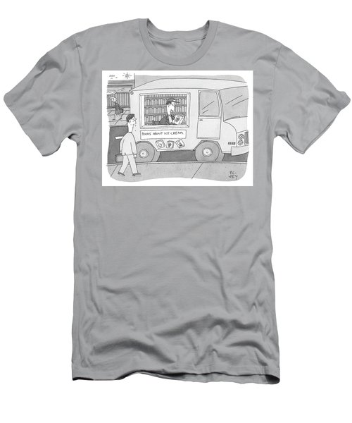Books About Ice Cream Men's T-Shirt (Athletic Fit)