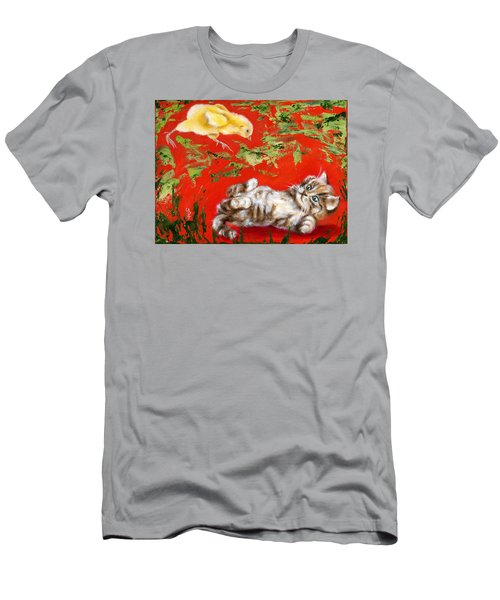 Men's T-Shirt (Slim Fit) featuring the painting Born To Be Wild by Hiroko Sakai