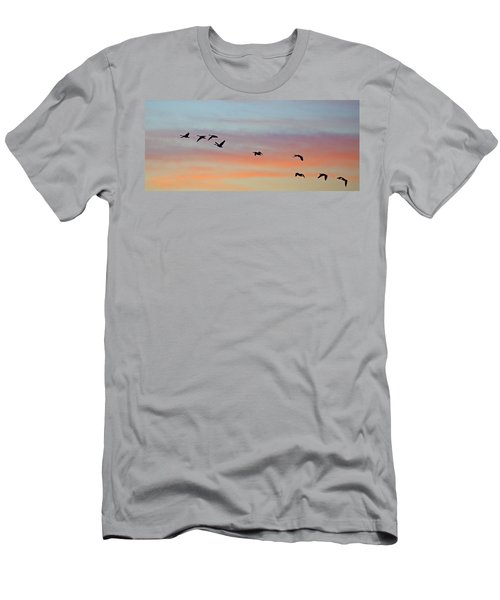 Bosque Sunrise Men's T-Shirt (Athletic Fit)