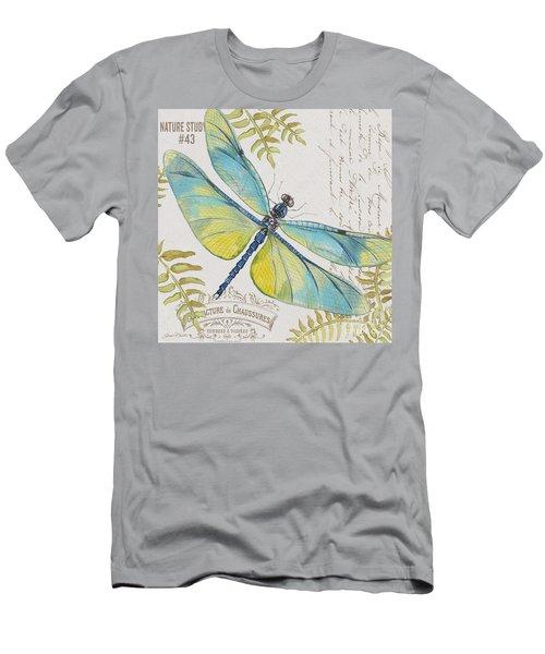 Botanical Dragonfly-jp3423b Men's T-Shirt (Athletic Fit)