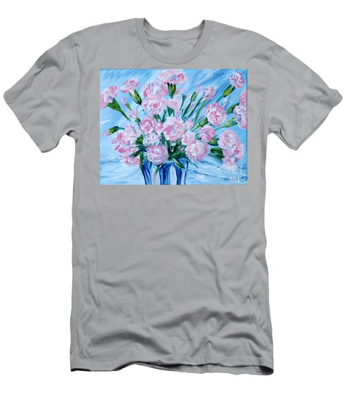 Bouguet Of Carnations.  Joyful Gift. Thank You Collection Men's T-Shirt (Athletic Fit)
