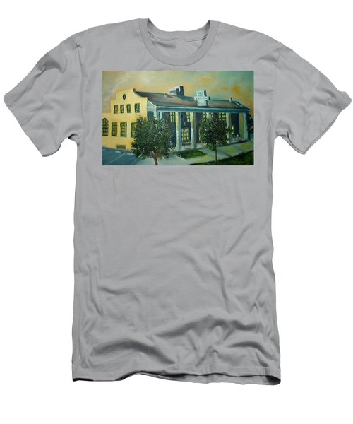 Boulder Dam Hotel, Boulder City, Nevada Men's T-Shirt (Athletic Fit)