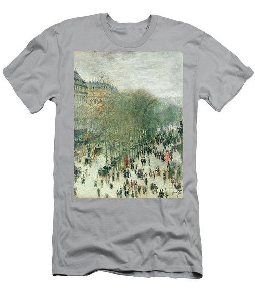 Boulevard Des Capucines Men's T-Shirt (Athletic Fit)