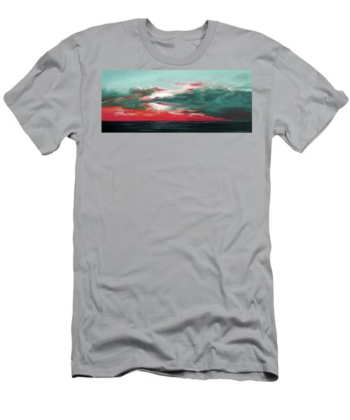 Bound Of Glory - Panoramic Sunset  Men's T-Shirt (Athletic Fit)
