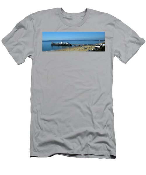 Bournemouth Pier Dorset - May 2010 Men's T-Shirt (Athletic Fit)