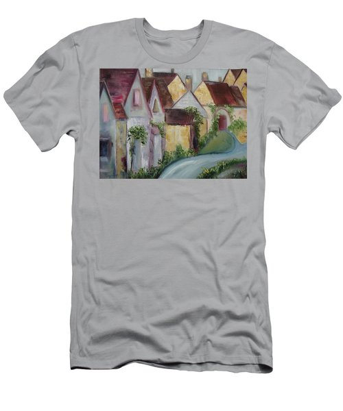 Bourton On The Water Men's T-Shirt (Slim Fit) by Roxy Rich