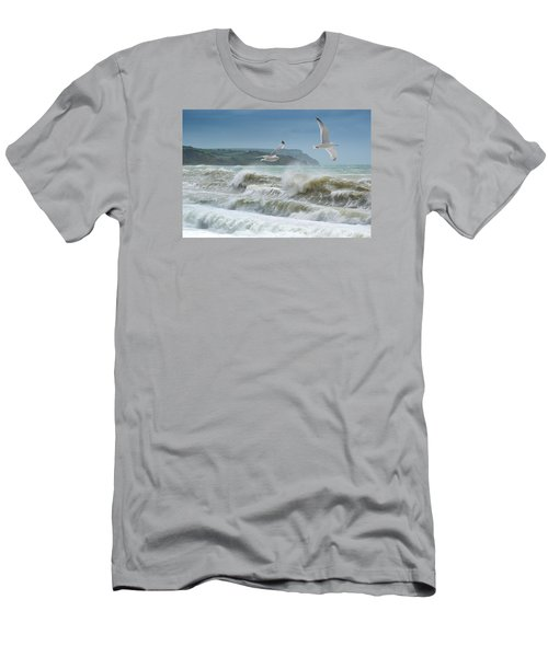 Bowleaze Cove Men's T-Shirt (Athletic Fit)