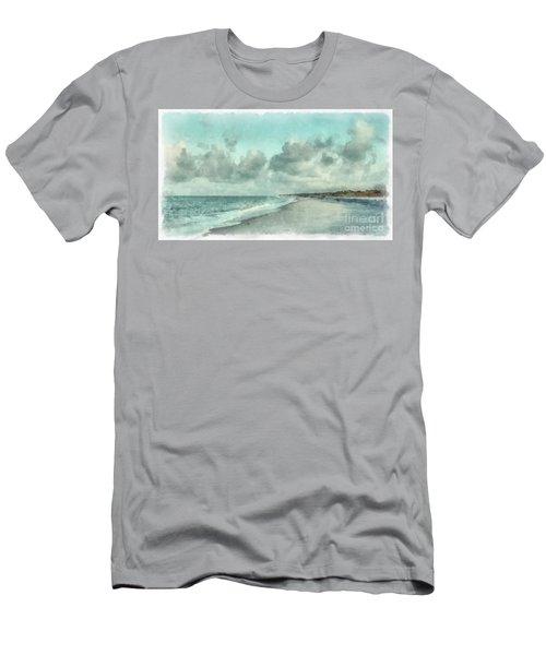 Bowman Beach Sanibel Island Florida Men's T-Shirt (Athletic Fit)