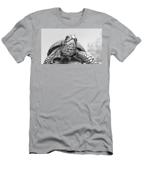 Men's T-Shirt (Slim Fit) featuring the photograph Boxy by Tammy Schneider
