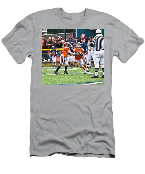 Boys Football Men's T-Shirt (Athletic Fit)