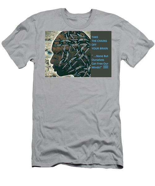 Brain Chains Men's T-Shirt (Athletic Fit)