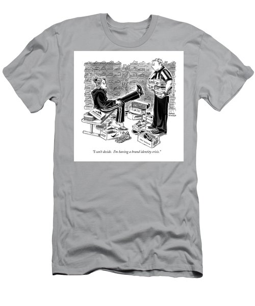 Brand Identity Crisis Men's T-Shirt (Athletic Fit)
