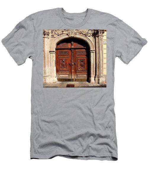 Bratislava Doors Men's T-Shirt (Athletic Fit)
