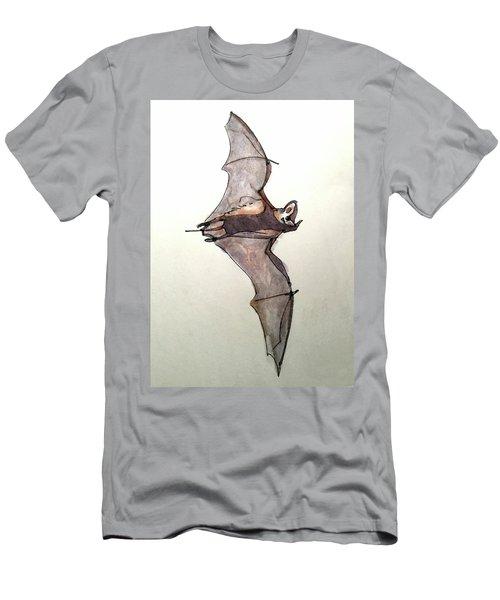 Brazilian Free-tailed Bat Men's T-Shirt (Athletic Fit)