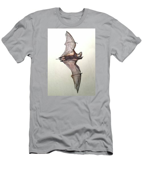 Brazilian Free-tailed Bat Men's T-Shirt (Athletic Fit)