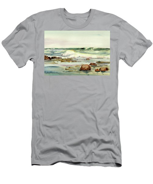 Breaking Seas Men's T-Shirt (Athletic Fit)