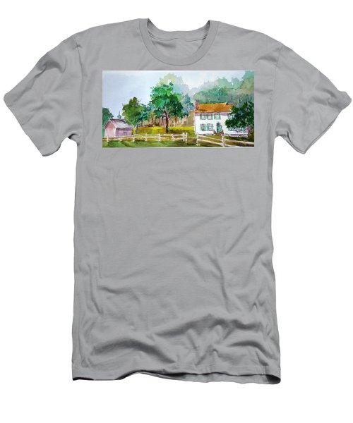 Brecknock Park Men's T-Shirt (Slim Fit) by Larry Hamilton